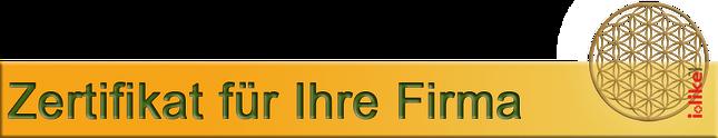 Zertifikat Bioresonanz Room-Converter Elektrosmog Gewerbe- und Industriebetriebe aller Art Office Dienstleistungen (Büro, Banken, Versicherungen, Buchhaltungen usw.) Hotels  Wellnesscenter Gastronomie, Restaurants Fitnesscenter Medizinische Einrichtung