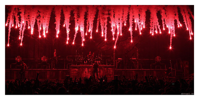 rammstein live, berlin.DE // photo and copyright by manfred h. vogel / mhvogel.de