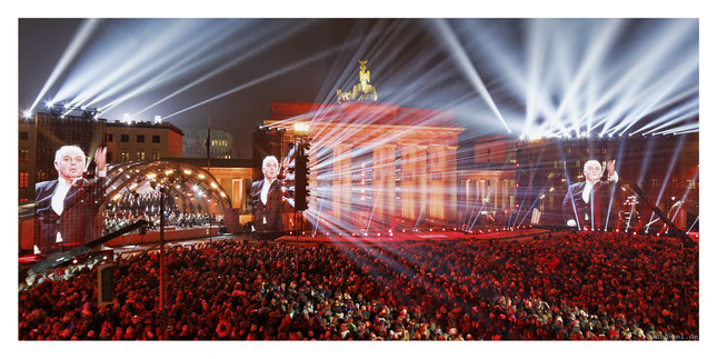 25 years fall of the wall by phase7 // photo and copyright by manfred h. vogel / mhvogel.de