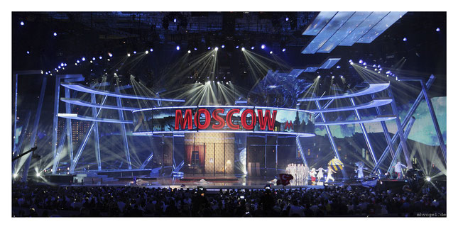 eurovision song contest, moscow.RU // photo and copyright by manfred h. vogel / mhvogel.de