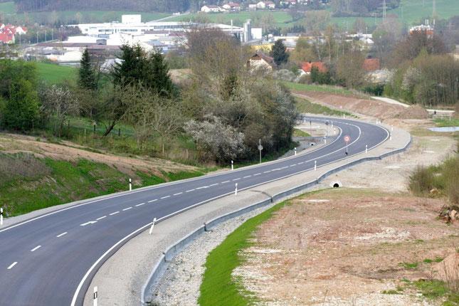 Südosttangente Ansbach - mittlerer Abschnitt -