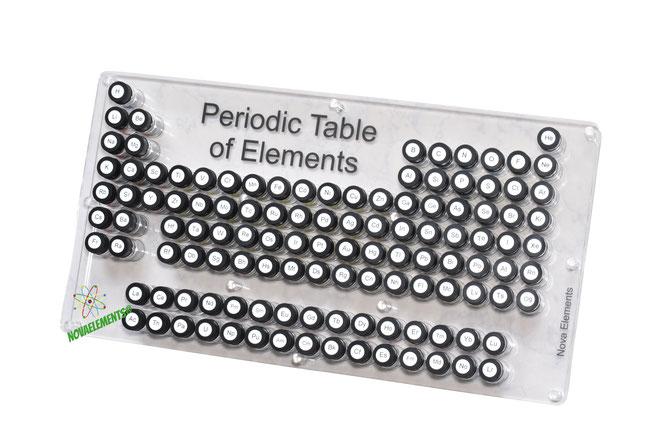 periodic table case, periodic table box, elements of the periodic table case, periodic table elements case, periodic table elements box