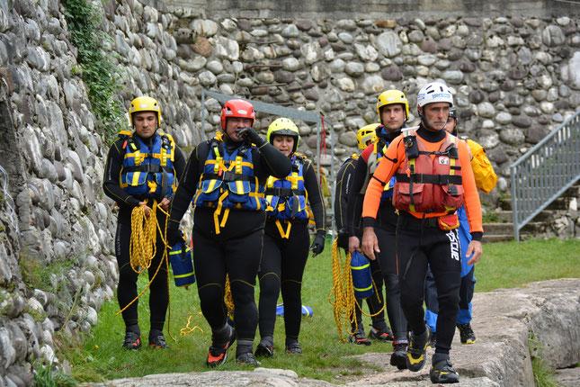 Squadra SAF Rescue Wild Water ®  - fiume Brenta Veneto
