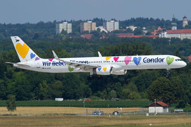 D-ABON B757-330 29023/929 Condor Flugdienst