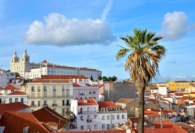 Places - Lisbona - Veduta dal Miradero de Santa Caterina
