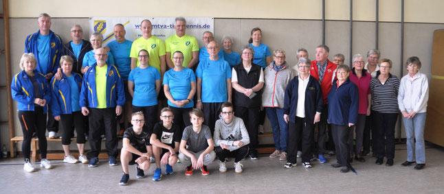 Teilnehmer und Organisatoren der letzten Vereinsmeisterschaft 2020