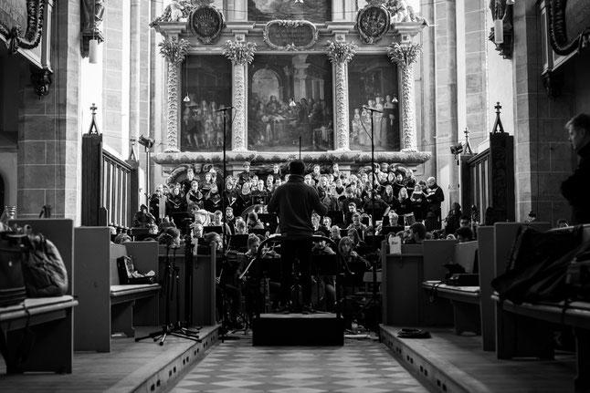das BSMCO 2017 bei seinem Auftritt im Dom zu Halle