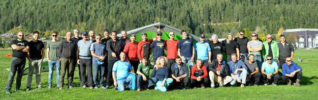 Falkenclub Abschlussfliegen Ausgleiten Piloten 12. Oktober 2019