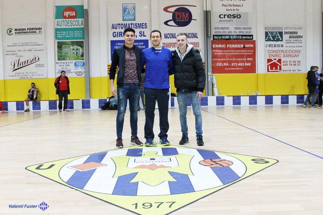 Natan Suarez, Sergi Baguer i Albert Diaz, Campions d'or a Almeria 2016