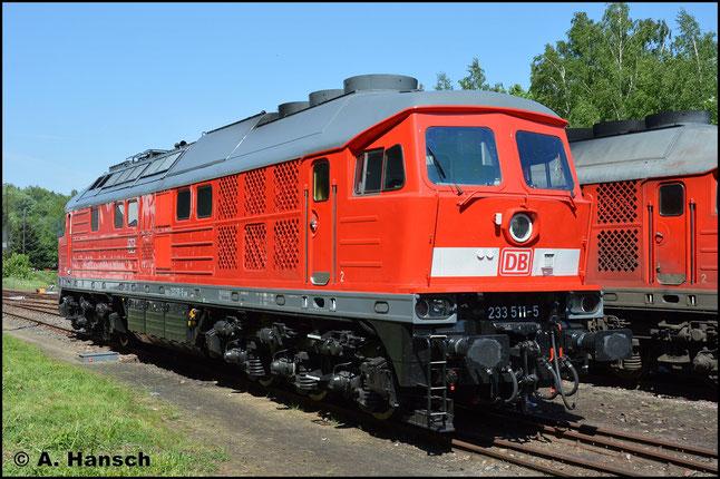 Frisch poliert erstrahlt die Lok am 13. Mai 2018, als sie beim Bw-Fest in Schwarzenberg zu Gast ist