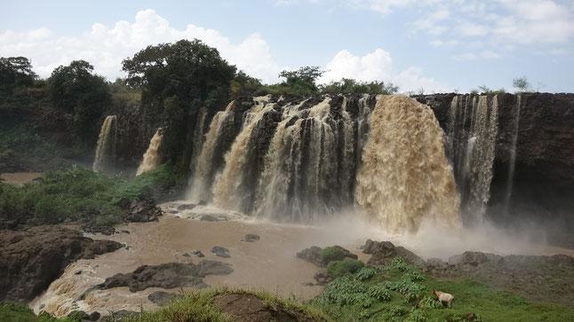Äthiopien- die Wasserfälle des Blauen Nil