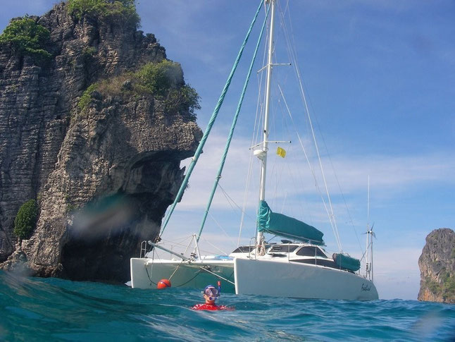 Catamaran Freebird in Thailand