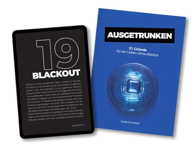 Ausgetrunken 31 Gründe für ein Leben ohne Alkohol Buch eBook Marie Schwarz