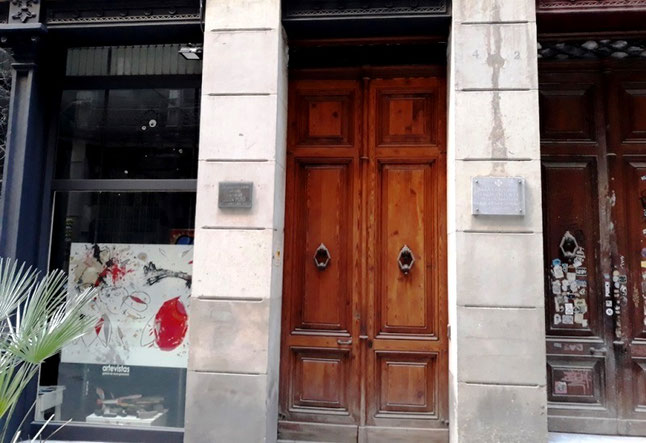 Дом. в котором родился Жоан Миро