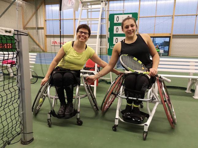 Claudia Seckinger und Zoé Maras