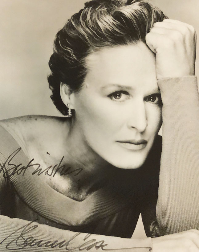 Autograph Glenn Close Autogramm