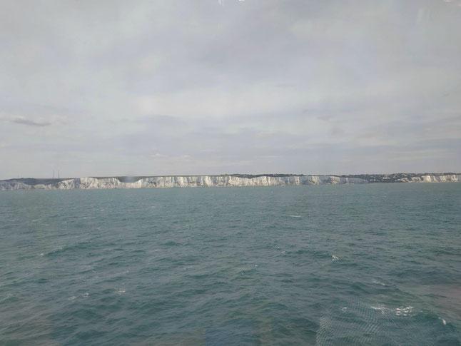 Kreidefelsen bei Dover in GB