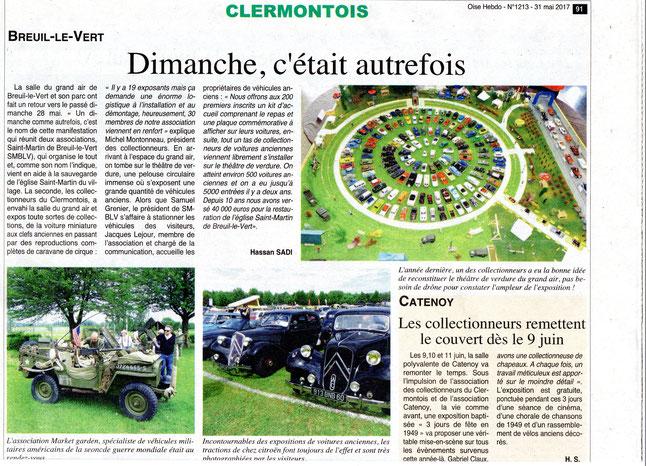 31 mai 2017 - Oise Hebdo