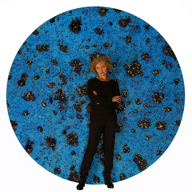 Sylvie Lander-artiste-peintre-peinture-outre ciel/ #SylvieLander