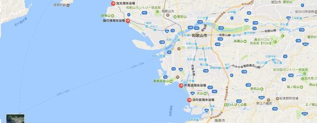 大阪から1時間で行ける海水浴場