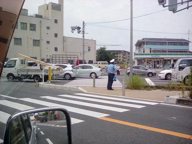 奈良県立医科大学附属病院の駐車場は満車。第3駐車場
