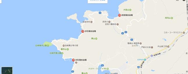 関西の海 由良町 きれい