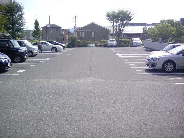 ハローワーク奈良の駐車場