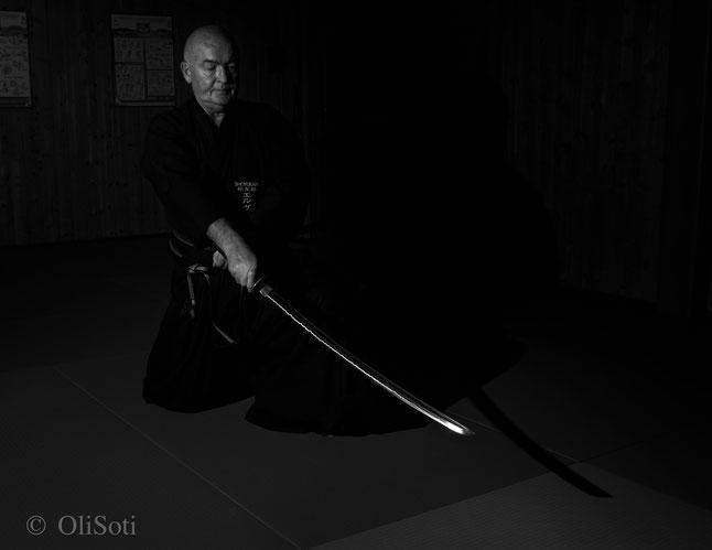 Jean-François Hervet, 5e dan de iaido; professeur du Shôyûkan