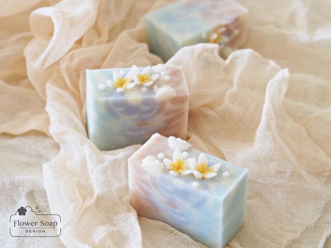 石けんで作る花 お花の石けん フラワーソープ 可愛い石けん