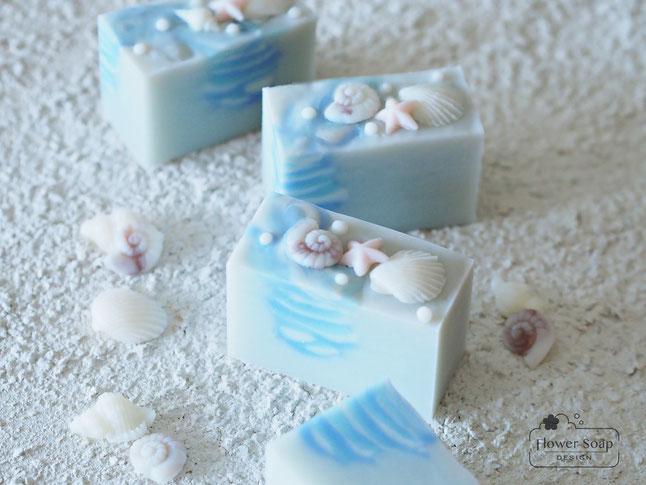 夏の石けん 手作り石鹸教室 大人の習い事 石けん作り