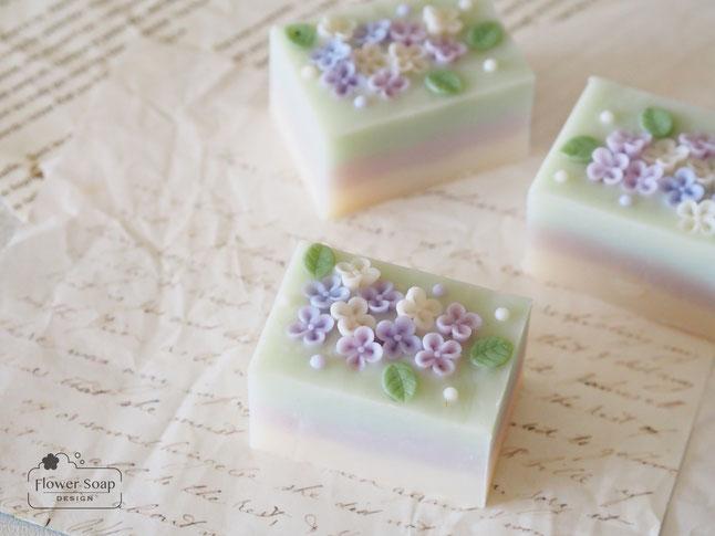 紫陽花の石けん 手作り石鹸教室 元町・中華街のお稽古 都心の習い事