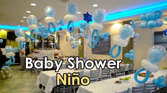 Decoraci n baby shower ni o decoracion para fiestas - Decoracion de baby shower nino ...