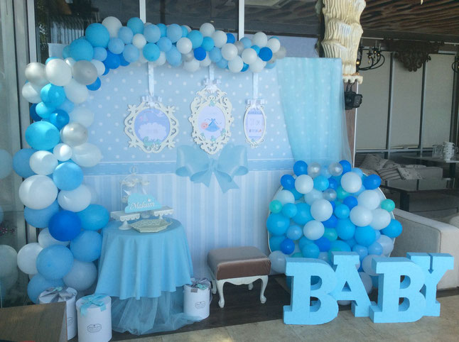 decoracion baby shower de niño