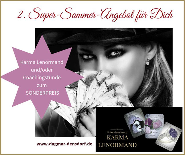 Super-Sommer-Angebot Karma Lenormand