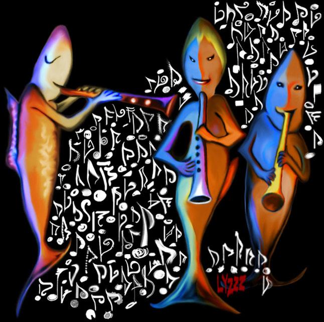Lyzzz'Art - graphisme, design, identité visuelle, maquette, digital-painting