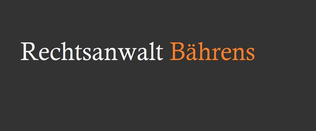 Rechtsanwalt Elsdorf - Bährens | Anwaltskanzlei | Bergheim
