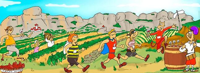 第2回プリオラート・マラソン (www.vinetur.com)