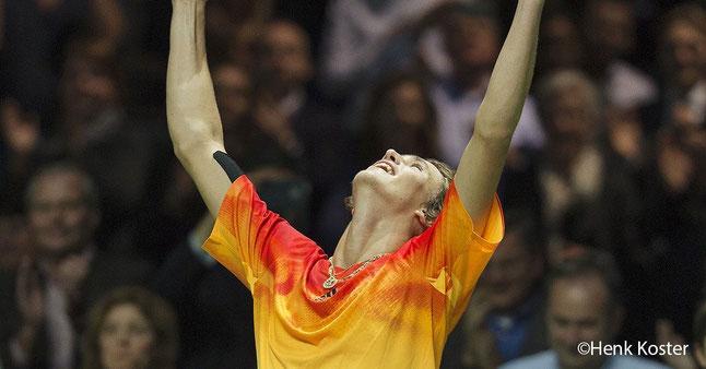 Foto Henk Koster, ATP World Tour, Rotterdam