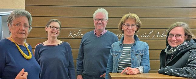 Kunstverein Achim Vorstandsmitglieder 2021