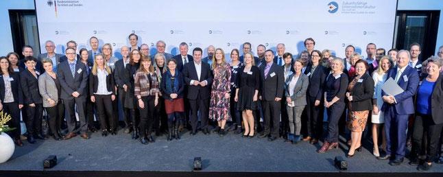 Auszeichnung durch den Bundesarbeitsminister Hubertus Heil im November 2019