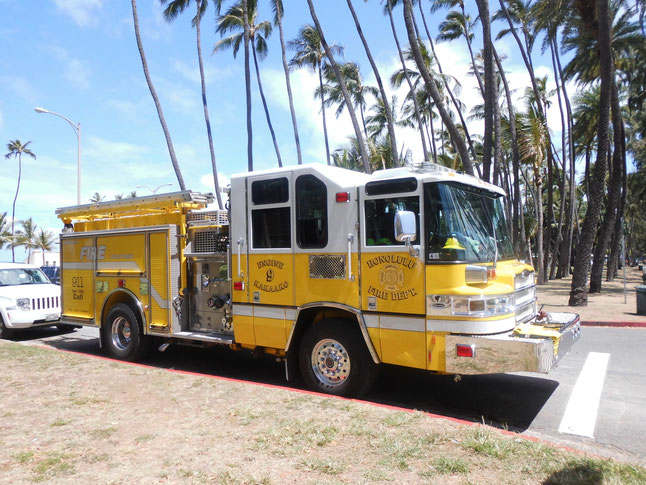 Bild: Honolulu, HDW, HDW-USA, Hawaii, Fire Department Honolulu, Hawaii 5-0