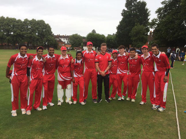 Cricket Switzerland U19s in England (2016)