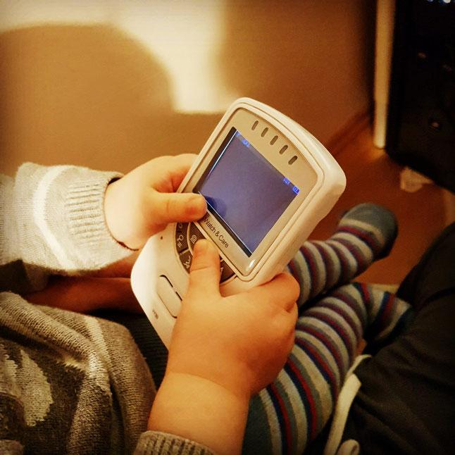 Video-Babyphone als Teil der Baby-Erstausstattung auf Mama-Blog Patschehand.de