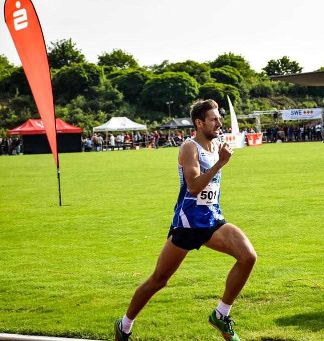 Jakob Gieße meldet sich in Karlsruhe im ambitionierten Wettkampfsport zurück