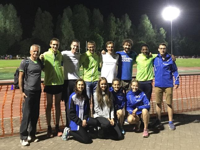Teilnahme am IFAM-Sportfest im belgischen Oordegem - eins der Jahreshighlights 2017