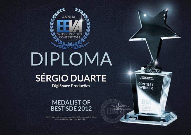 Sergio Duarte Premios Internacionais Prata