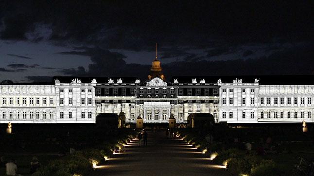 Karlsruhe - Schlosslichtspiele © KTG Karlsruhe Tourismus GmbH Hauslaib Lichtwelten