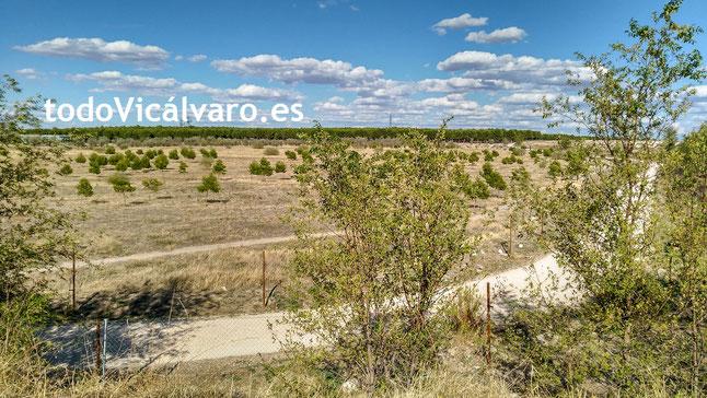 Frontera vallada entre Vicálvaro y Coslada - El Cañaveral, Vicálvaro, Madrid