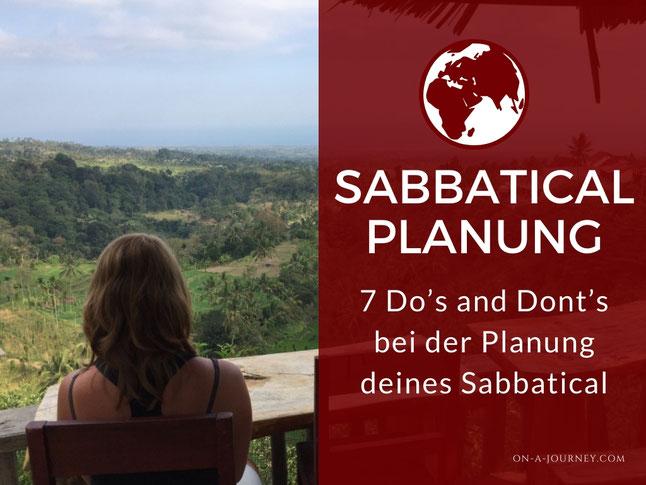 sabbatical jahr