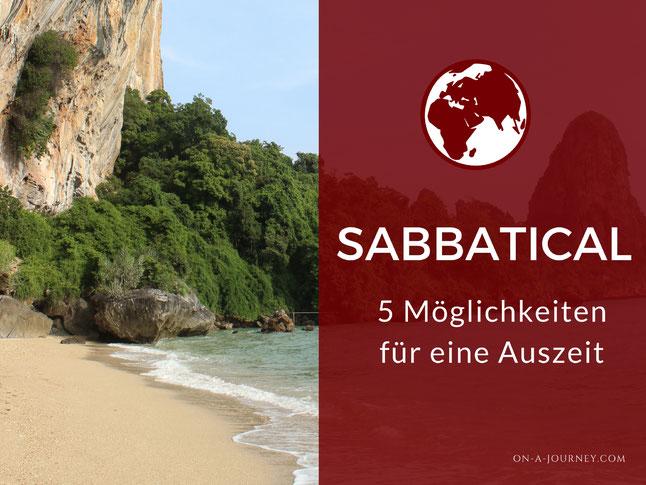 Sabbatical-Möglichkeiten-Sabbatical-Modelle